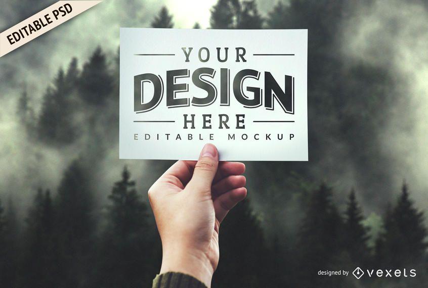 Diseño de plantilla de maqueta PSD - Descargar PSD
