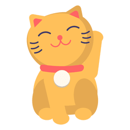 Cor maneki neko gato