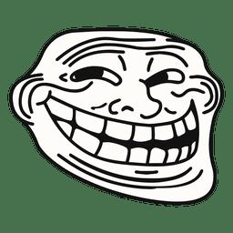 Meme trollface Coolface