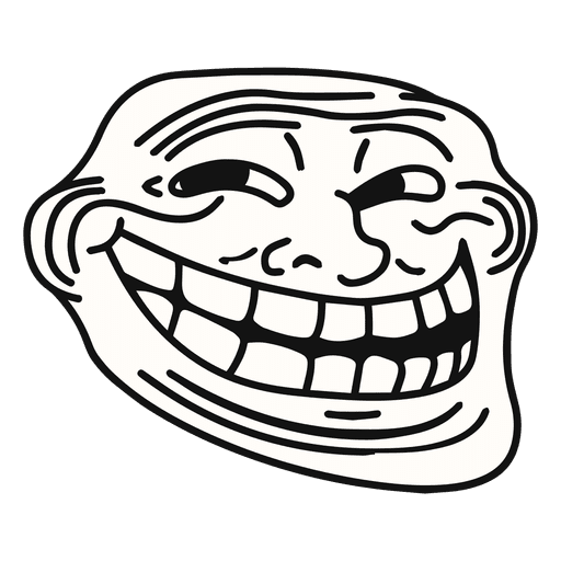 Meme de trollface Coolface
