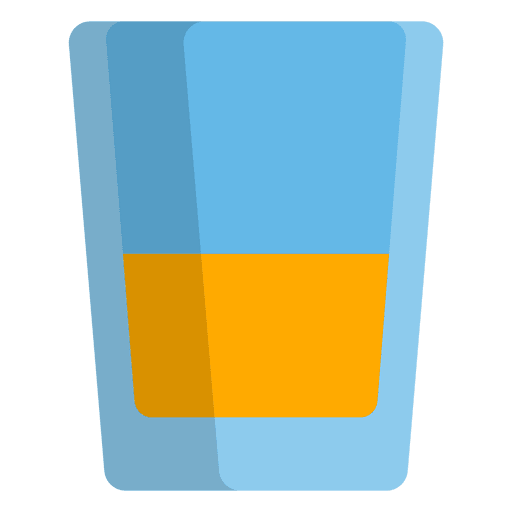 Icono de disparo tequila Transparent PNG