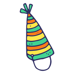Birthday hat cartoon