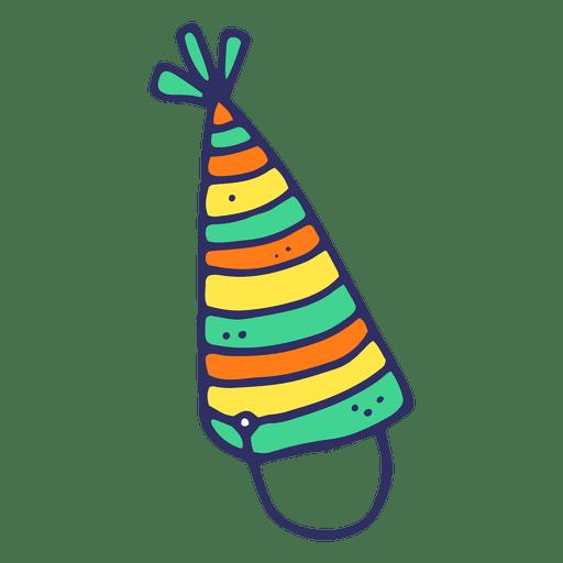Sombrero de cumpleaños de dibujos animados Transparent PNG