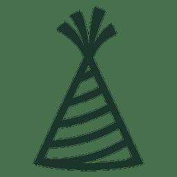 Geburtstag Hut Symbol