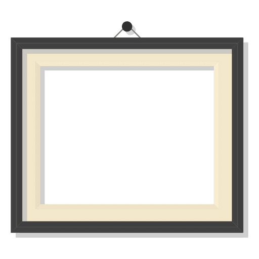 Blace picture frame