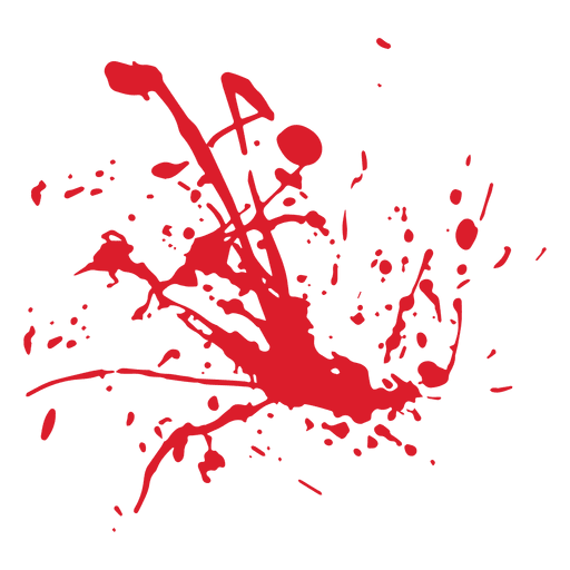Blood splatter - Transparent PNG & SVG vector