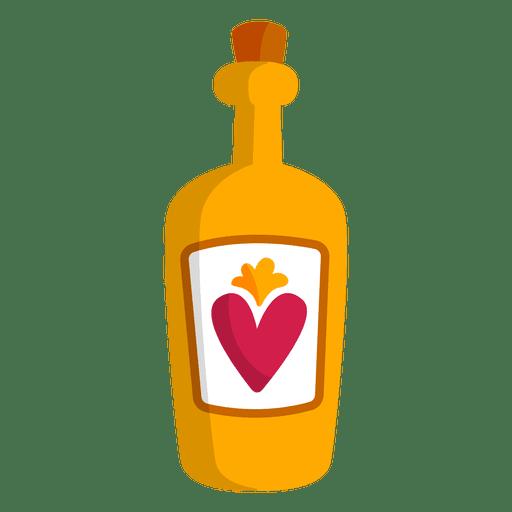 Garrafa tequila licor - Baixar PNG/SVG Transparente