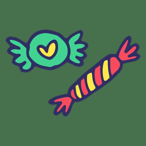 Desenhos animados doces de doces Transparent PNG