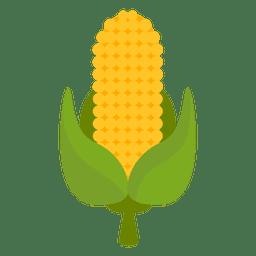 Icono de dibujos animados de maíz
