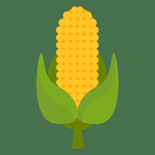 Icono de dibujos animados de maíz Transparent PNG