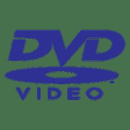 Dvd logo azul