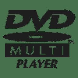 Logotipo multi-jugador de DVD