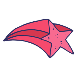 Caricatura estrella de vuelo