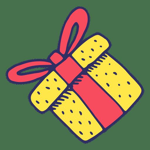 Gift cartoon icons