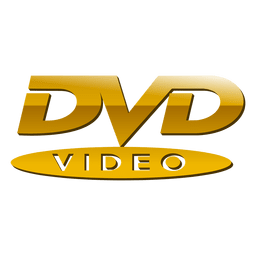 Golden dvd logo