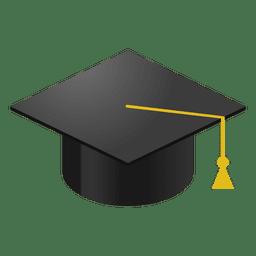 Dibujos animados de la tapa de graduación