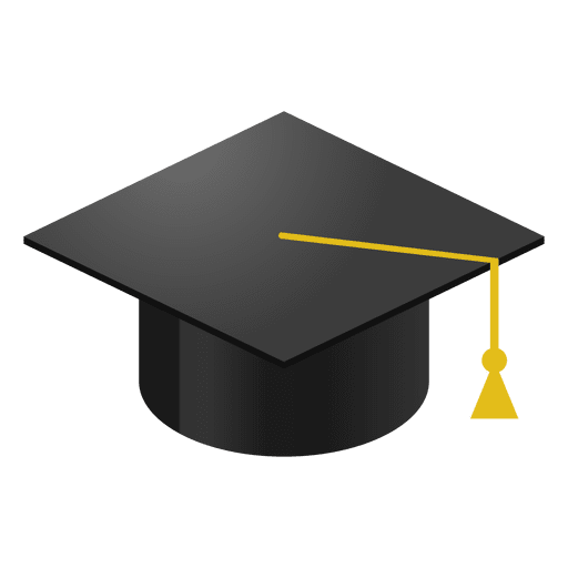 Graduation cap cartoon - Transparent PNG & SVG vector