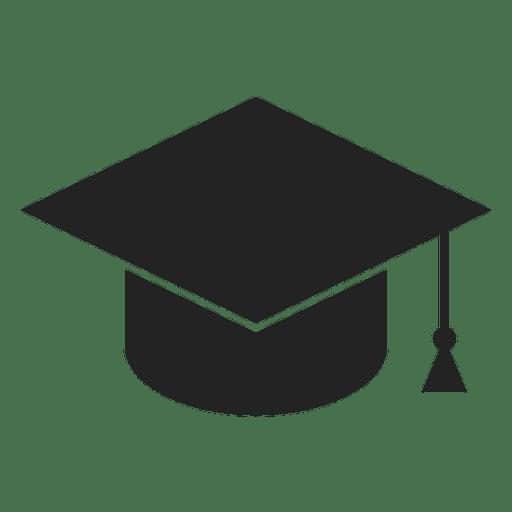 Icono de gorro de graduación