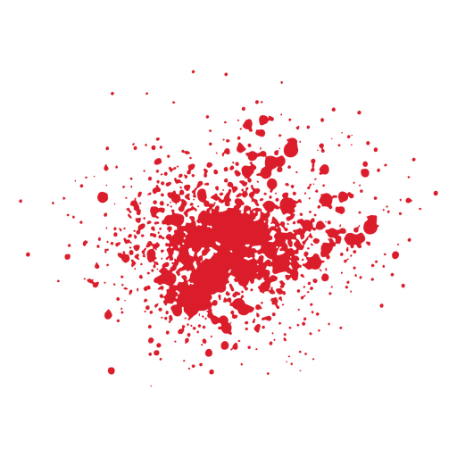 Grunge blood splatter - Transparent PNG & SVG vector