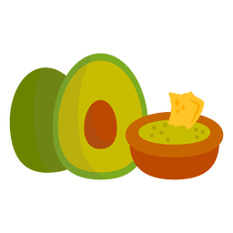 Guacamole cartoon