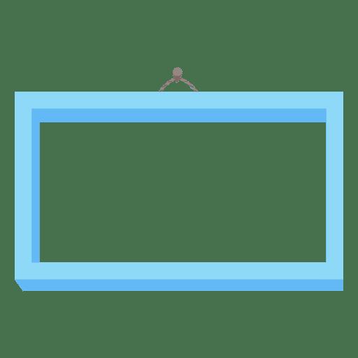horizontal photo frame transparent png