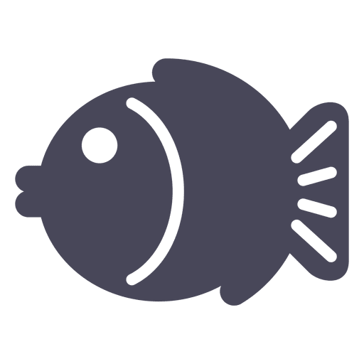Japan fish icon black Transparent PNG