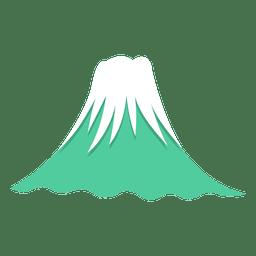 Icono de fuji mountian de japon