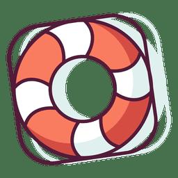 Rettungsschwimmer-Symbol