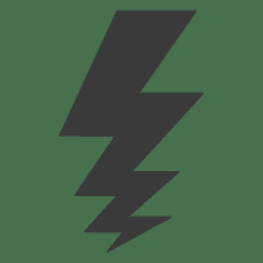 Símbolo relâmpago Transparent PNG
