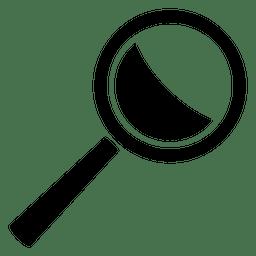 Ícone simples da lupa