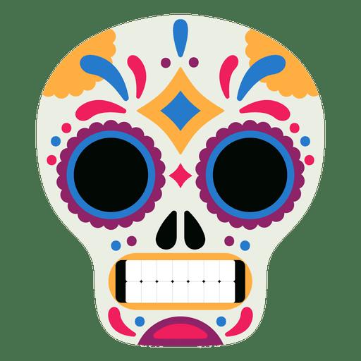 Mask skull day of the dead