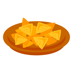 Nachos cartoon food