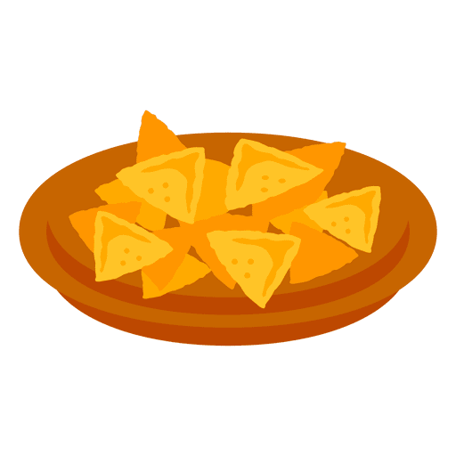 Nachos cartoon food Transparent PNG
