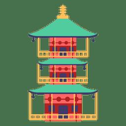 Casa japonesa de pagode