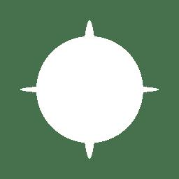 Reflexo de lente estrela