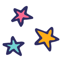 Stars icon cartoon