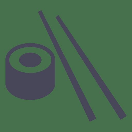 Sushi icon sticks Transparent PNG