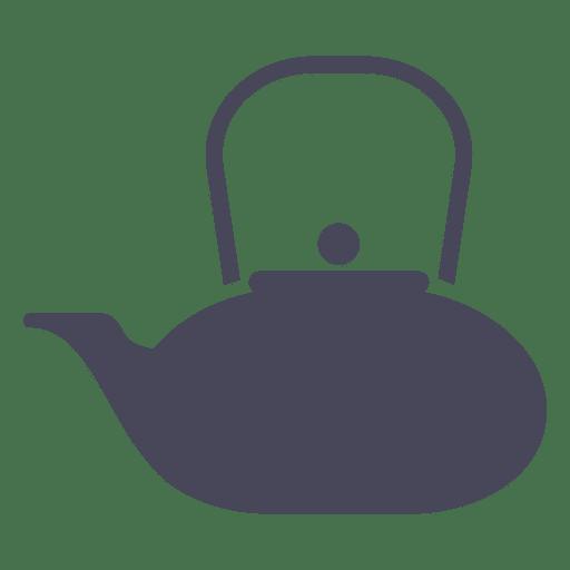 Tea kettle icon Transparent PNG