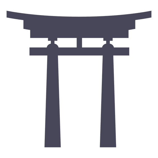 Torii gate japan building Transparent PNG