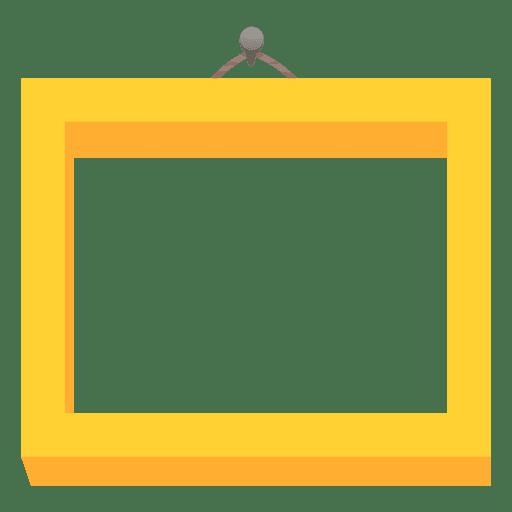 C Custom >> Moldura de foto amarela - Baixar PNG/SVG Transparente