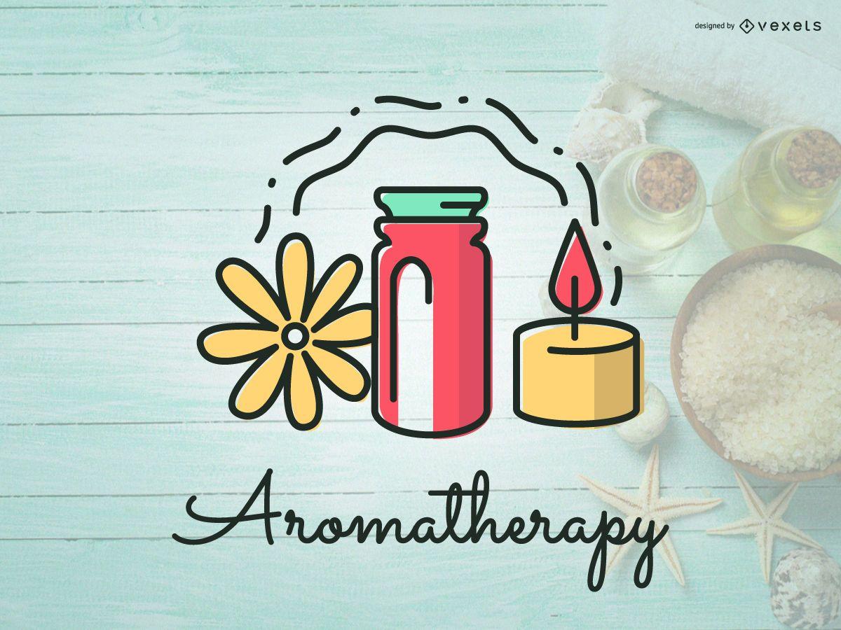 Aromatherapy Logo Icon Design Vector Download
