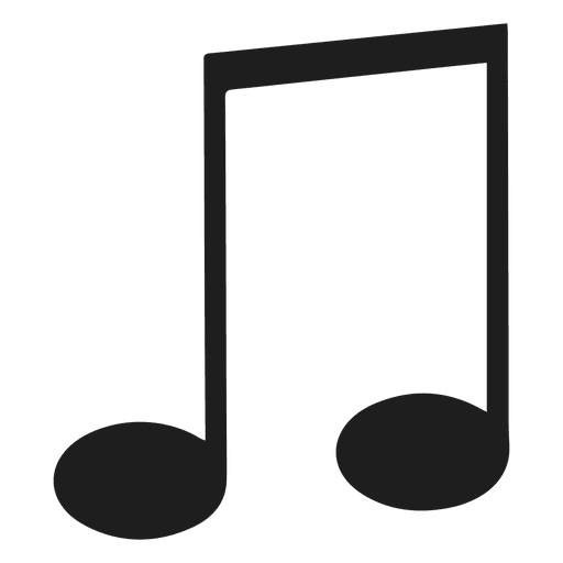 Eighth note music Transparent PNG