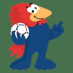Footix france 98 fifa mascot