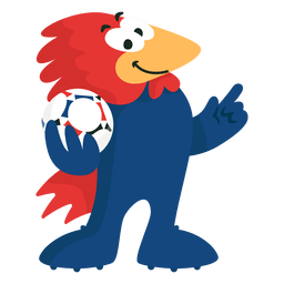 Footix Frankreich 98 Fifa Maskottchen