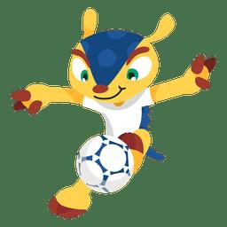 Fuleco brazil 2014 fifa mascot