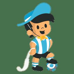 Gauchito fifa argentina 1978 mascot