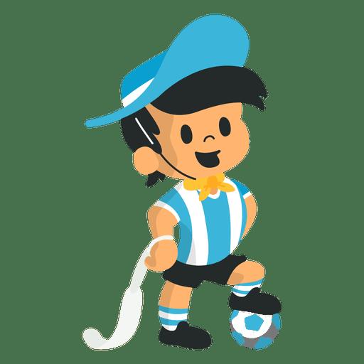 Gauchito fifa argentina 1978 mascot Transparent PNG