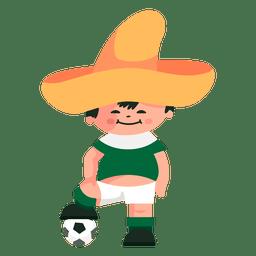 Juanito mexico 1970 fifa mascota
