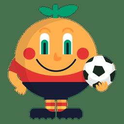 Naranjito spain 1982 mascote da fifa