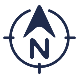 Ubicacion flecha norte